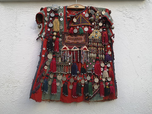 Turcoman Afghan child's dress