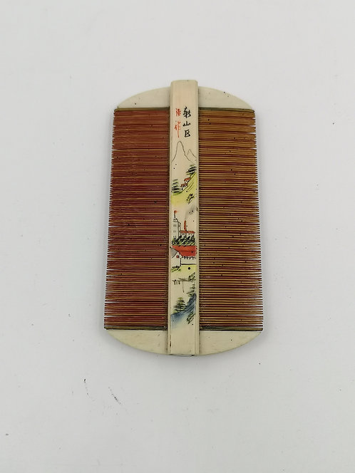 Chinese ivory comb