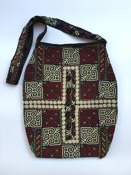 Turcoman Old Trousers Embroidery Patch Bag