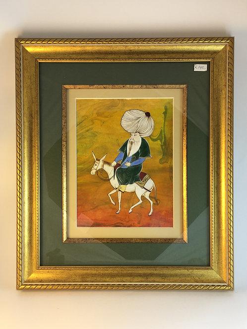 Nasreddin Hodja Miniature Painting