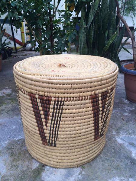 Baobab leaves Hand Woven Basket