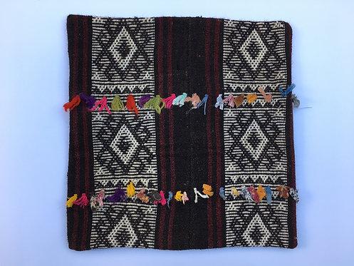 Old Kurdish Cicim Kilim Cushion