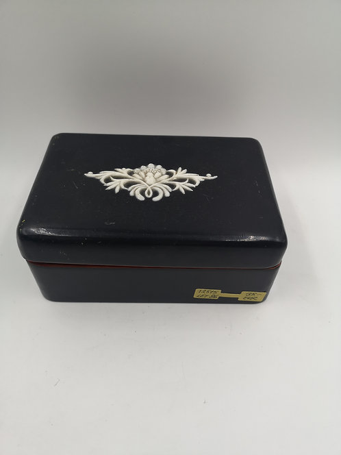 Chinese box with ivory carving