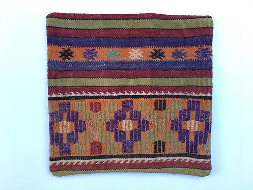 Old Turkish Kilim Cushion