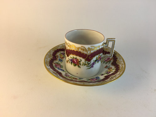 1970s porcelain coffee cup