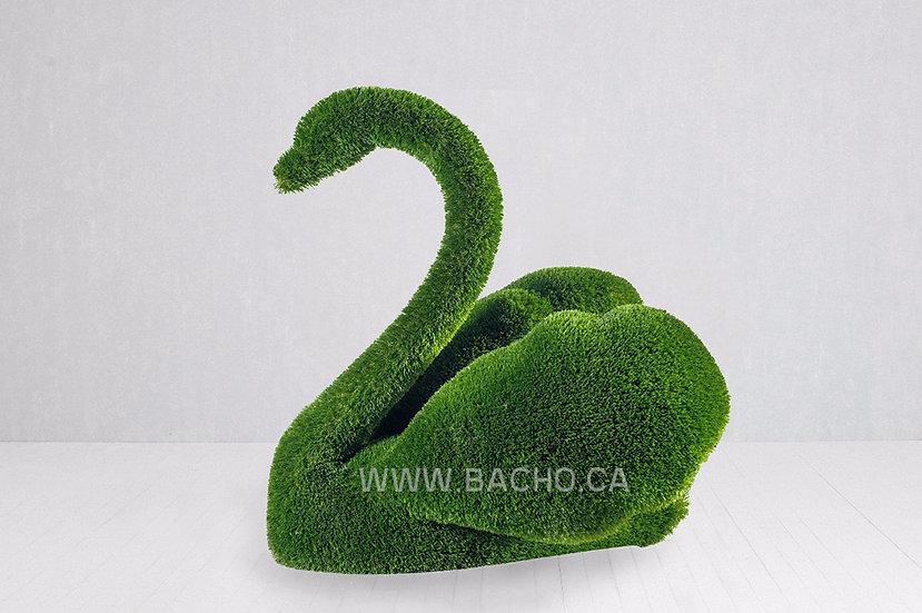 Swan Small - 1.1 x 1.0 x 0.82 m
