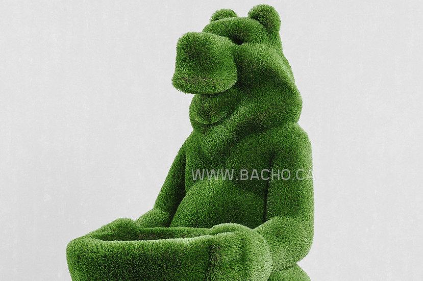 Bear With Basket - 1.75 x 1 x 1.35 m