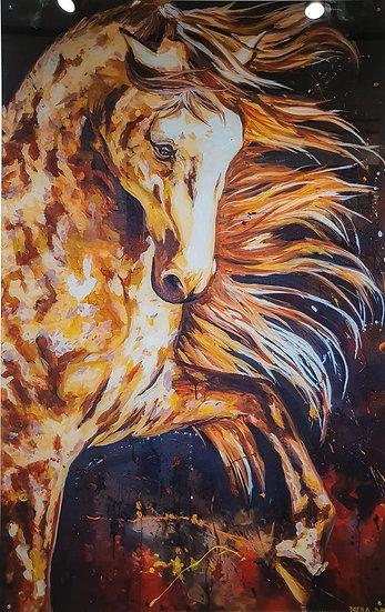 Spanish Horse By Nitra-Art - Print on plexi - 160 x 100 cm