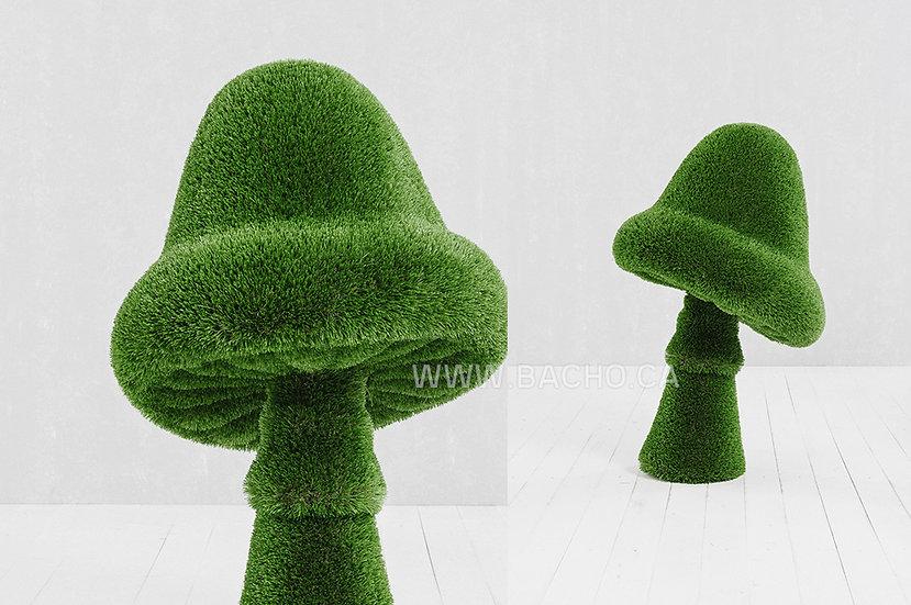 Mushroom - 1.15 x 0.70 x 0.70 m