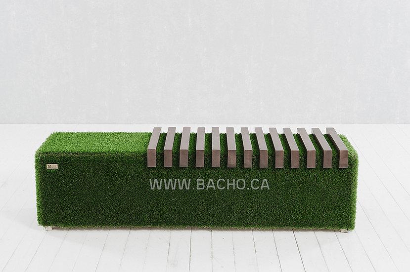 Sherwood Bench Dark - 0.49 x 0.75 x 0.50