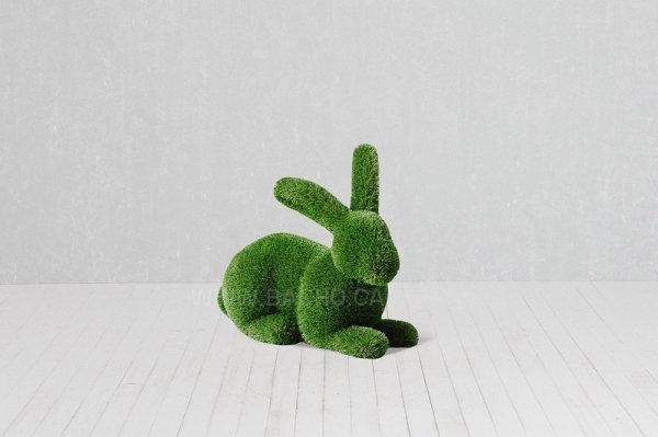 Rabbit - 0.8 x 0.9 x 0.5 m