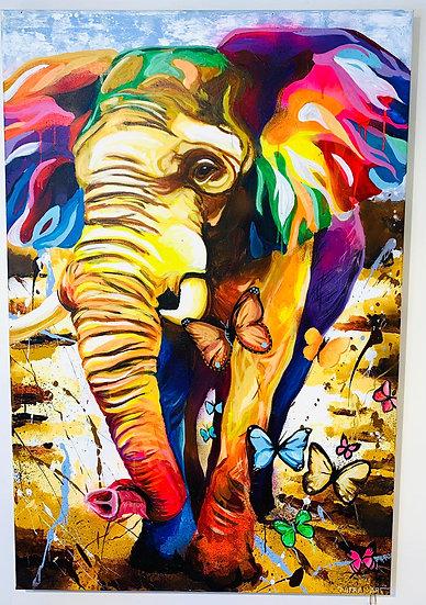 Elephant - 80 x 120