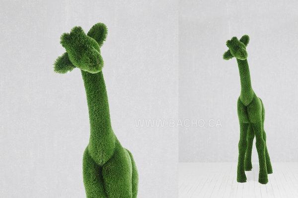 Giraffe S - 2.45 x 1.75 x 0.8