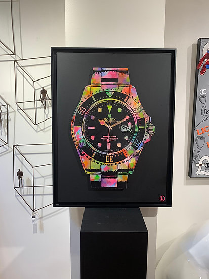 Funky Rolex  By Olivier Ameye - 80 x 60 cm