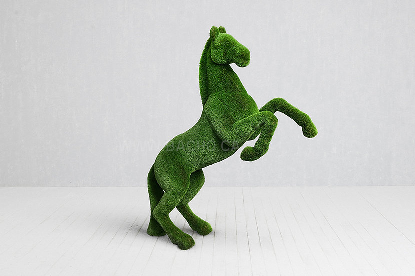 Reared Up Horse - 3.0 x 2.5 x 0.9 m