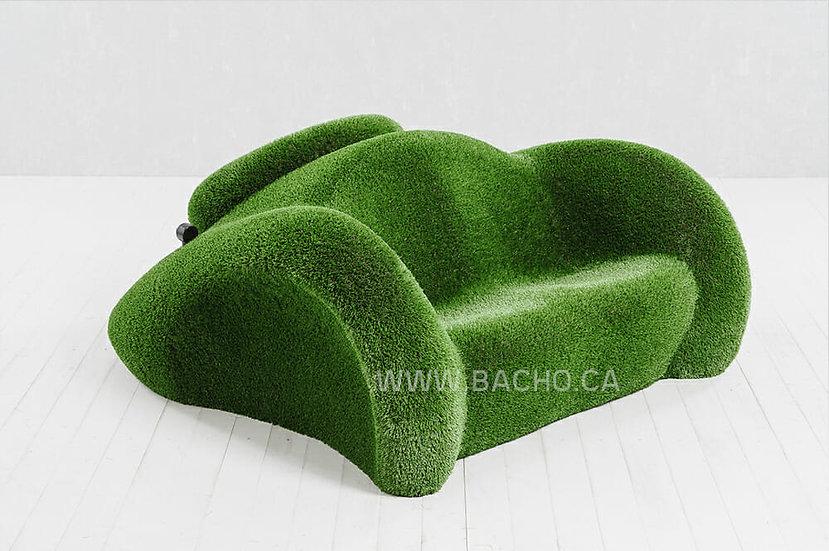 Car-shaped bench - 0.80 x 1.90 x 1.70