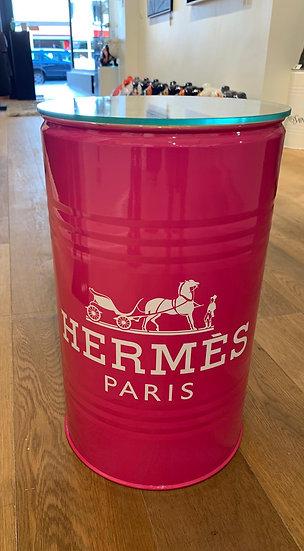 Hermes Pink Side table