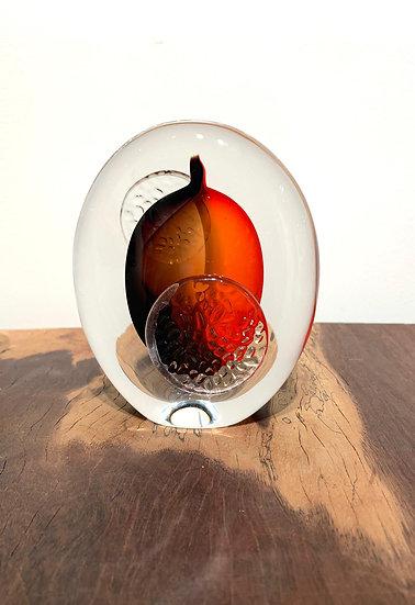 Art Glass - Red S