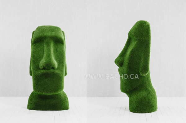 Easter Island Idol - 2.0 x 0.8 x 0.6 m