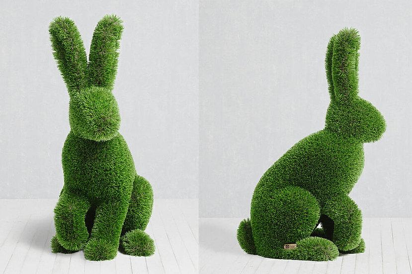 Rabbit Sitting - 1.1 x 0.7 x 0.45 m
