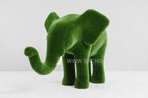 Elephant M - 1.5 x 2.6 x 1.7 m