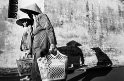 Shopping bags & shadows