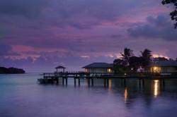 Evening hues