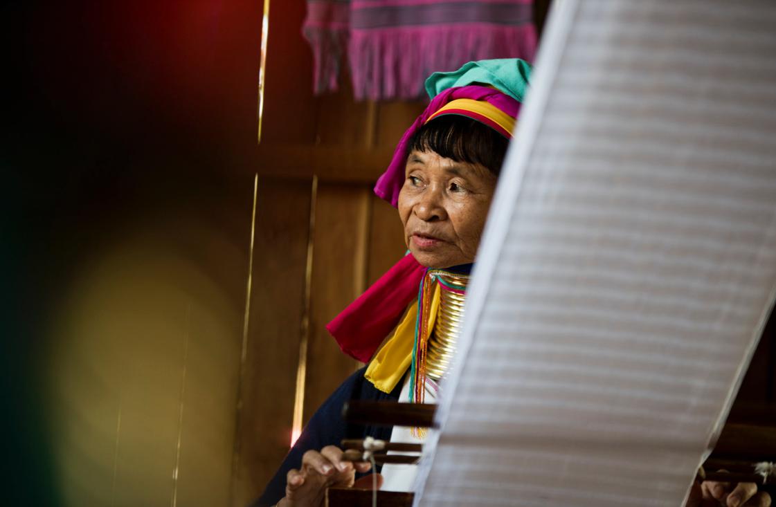 Pensive weaving