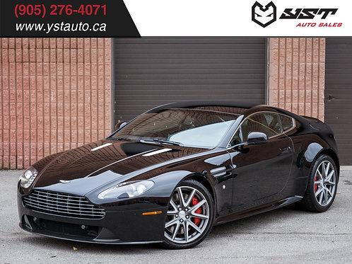 2012 Aston Martin Vantage S V8 48600KM