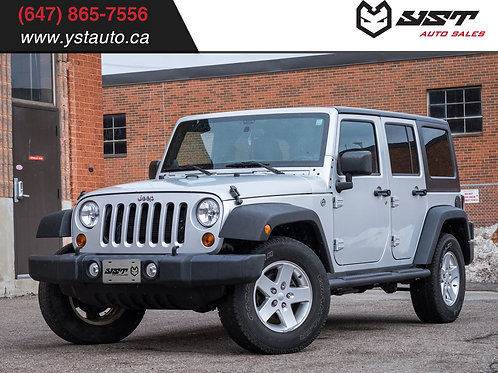 2012 Jeep Wrangler Unlimited Sport 82394KM