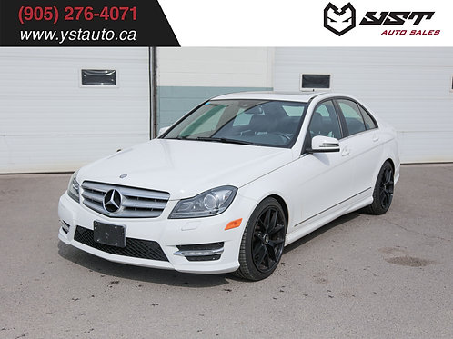 2013 Mercedes-Benz C300 4Matic | No accident | Sunroof | 2 sets wheel | 89000KM