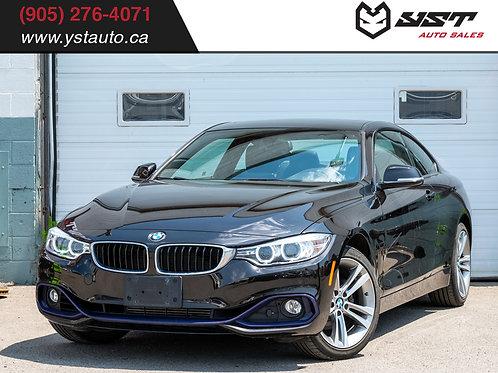 2014 BMW 428i xDrive | Navi|| HUD| Sunroof| HK Audio| Sport| 48500KM