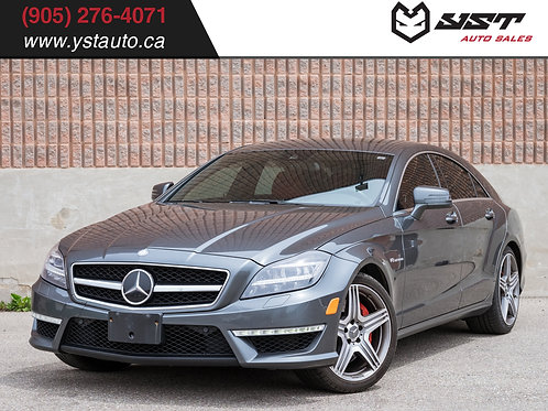 2014 Mercedes-Benz CLS 63S AMG |B&O| Blind Spot| No accident| Designo| 63000KM