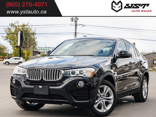 2016 BMW X4 xDrive28i | No Accident| Like New| Sunroof| 14400KM