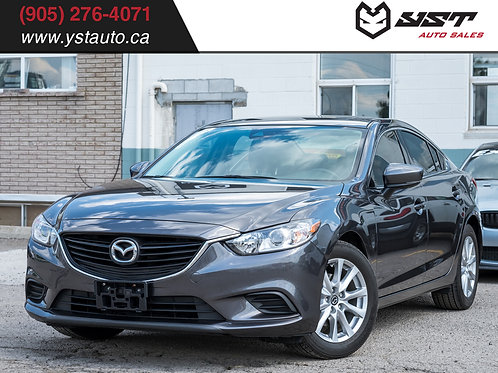 2017 Mazda Mazda6 GS | Navi | Leather | No Accident |1 Owner| 49700KM