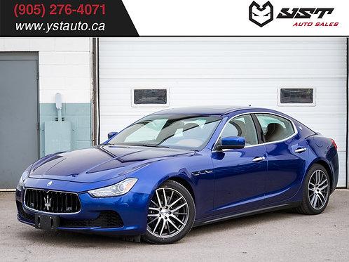 2014 Maserati Ghibli SQ4 | Navi| Snow Tires | Sunroof| 85000KM