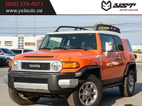2013 Toyota FJCruiser | 1 Owner| 101300KM