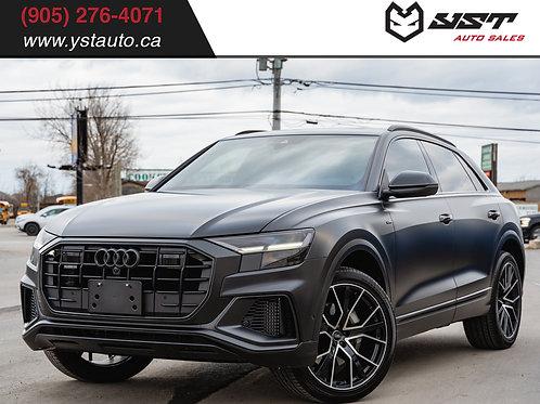 2020 Audi Q8 Progressvi S-line | Clean Carfax| 1 Owner| Navi | XPEL|  5500KM
