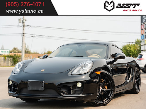 2014 Porsche Cayman 6- Speed Manual |Certified| Local Car| 92200km