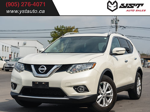 2016 Nissan Rogue SV| AWD| Sunroof| No Accident| Bluetooth| 43200KM