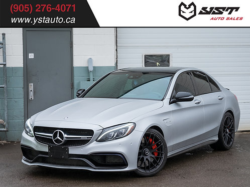 2016 Mercedes C63S AMG | One Owner | 79680KM