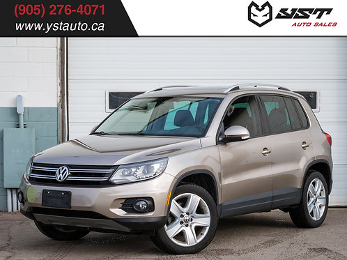 2015 Volkswagen Tiguan Comfortline | LED | AWD | Leather | Panoroof | 44500KM