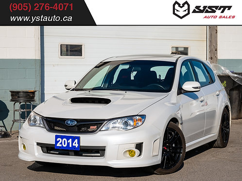 2014 Subaru WRX STI Hatchback|Navi|Sunroof|Heated Seats| 50400KM