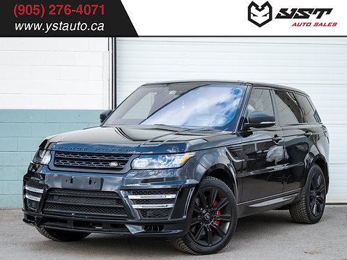 Land Over Range Rover Sport V8 Supercharged | Lumma Kit| No Accident| 67500KM
