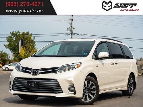 2018 Toyota Sienna XLE Limited AWD| Navi| DVD | 7 PASS | 360 Cam| 26000km