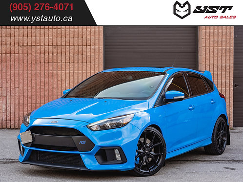 2017 Ford Focus RS | Recaro| Clean Carfax| Navi| 56600KM
