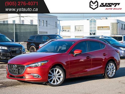 2017 Mazda Mazda3 GT 28300KM