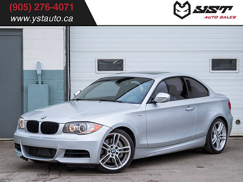 2011 BMW 1 Series 135i Coupe | M sport | DCT | Clean Carfax |