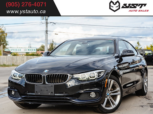 2018 BMW 430i xDrive | 1 Owner| Clean Carfax| Navi| Blind Spot| 49800KM