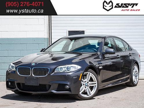 2013 BMW 535i xDrive | M Sport| 360 CAM| Navi| Blind Spot| 174k KM